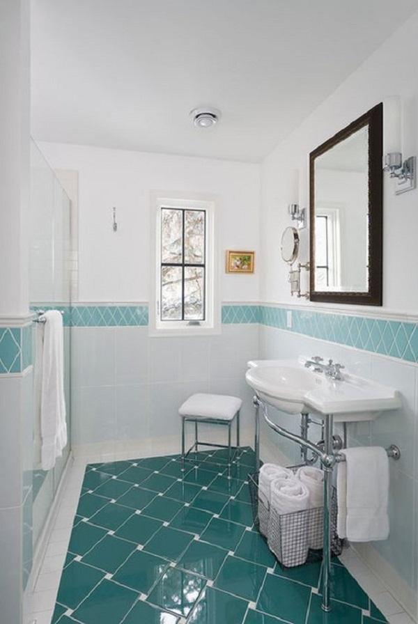 Mẫu gạch này cho không gian phòng vệ sinh gia đình nổi bật