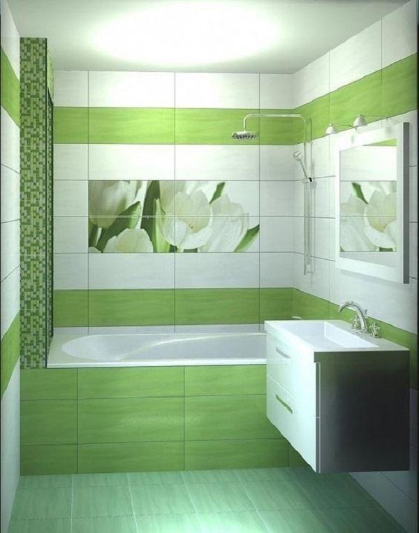 Trang trí bằng Mẫu gạch này cho phòng vệ sinh vẻ đẹp nổi bật