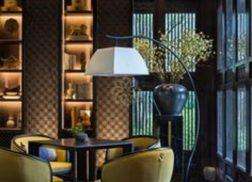 Gạch thẻ màu đen cho quán cà phê cho một không gian cổ điển và sang trọng