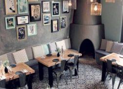 Gạch bông vân cổ điển cho quán cà phê rất hiện đại và thẩm mỹ