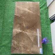 Gạch 60×1200 CM Màu Nâu Vân Đá Cẩm Thạch Bóng Kính Nhập Khẩu