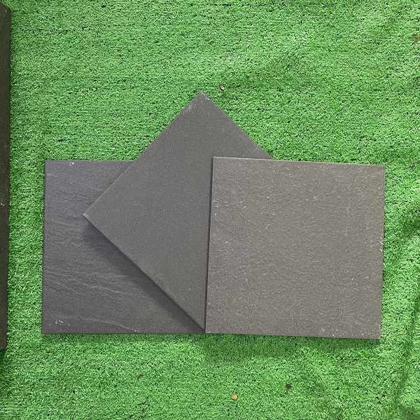 Gạch Đá Lát Nền 30×30 Cm Màu Xám Đen Mờ Nhám Taicera G38029 G38529 G38629