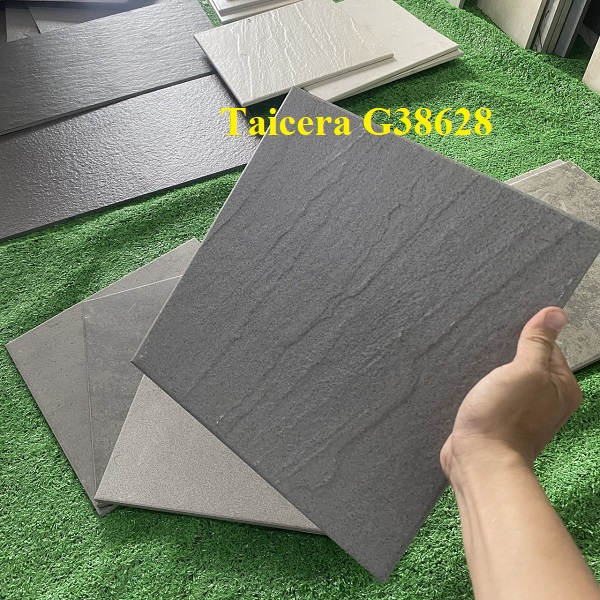 gach taicera g38628 mau xam van gon 30x30 cm