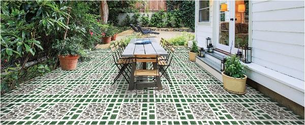 Gạch lát cần có tính năng chống nóng để giảm nền nhiệt