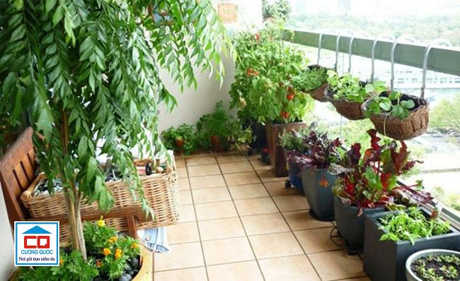 Gạch lát sân thượng phải có độ bền cao, chịu được các tác động của thời tiết.