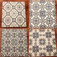 4 Mẫu Gạch Bông Men Vân Cổ Điển Ốp Lát Phòng Vệ Sinh