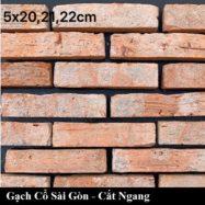 Gạch Cổ Sài Gòn Giá rẻ Cắt Bìa – Ruột Ốp Tường Quán Cà Phê