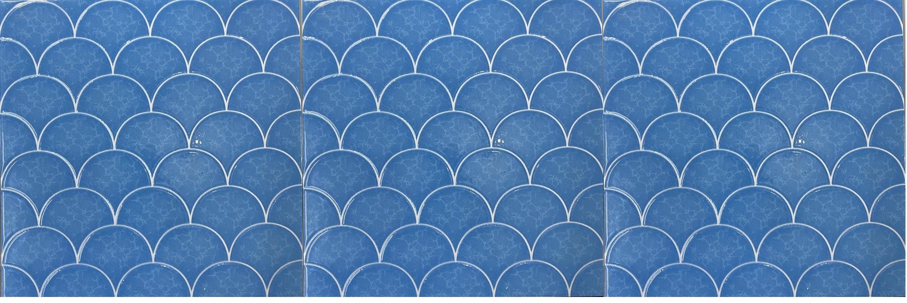 gach gia mosaic vay ca 30x30 cm mau xanh bien gia re