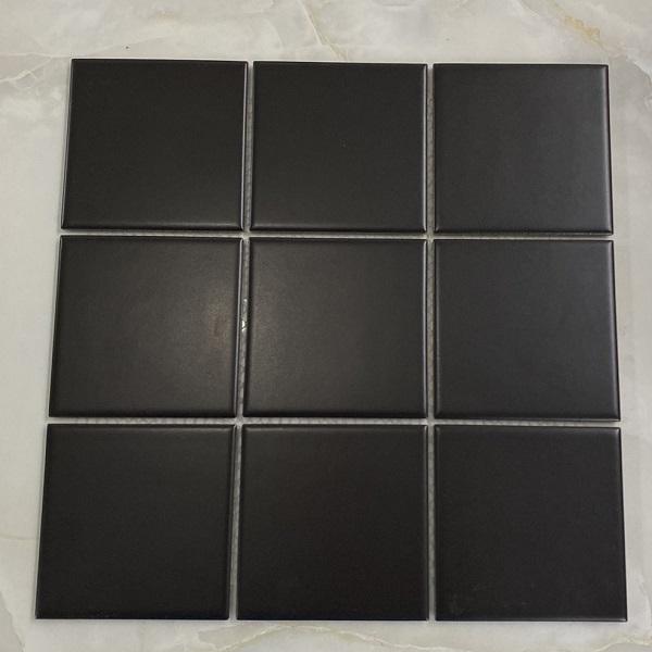 Gạch Ốp Tường Mosaic Màu Đen Ốp Bếp – Phòng Vệ Sinh