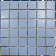 gạch Mosaic Gốm Mày Xanh Da Trời Men Mờ Ốp Lát Phòng Tắm