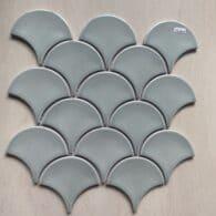 Gạch Mosaic Màu Xanh Lá Ngọc Nhạt Ốp bếp – Phòng Tắm