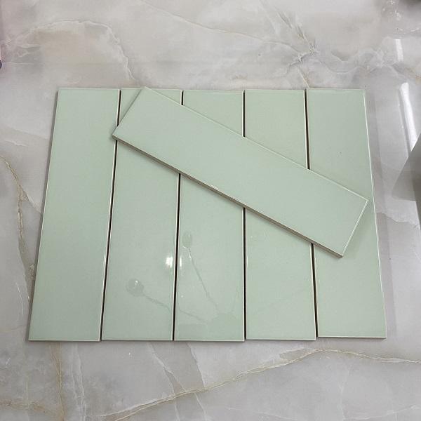 Gạch Ốp Tường Màu Xanh Lá Cây 7.5×30 Cm Ốp Bếp – Phòng Tắm