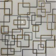 Gạch Ốp Tường 30×30 Cm Nhủ Vàng Đen Ô Vuông Ốp Bếp