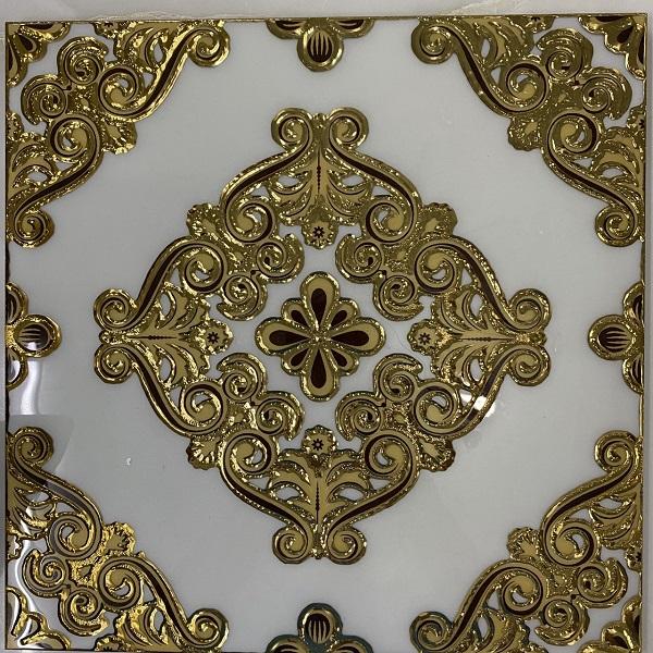 Gạch Ốp Tường 30×30 CM Hoa Văn Nhủ Vàng Ốp bếp