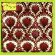 Gạch Nhủ Vàng Ốp Tường màu Đỏ 30×30 Cm Ốp Phòng Vệ Sinh