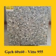 Gạch Vân Đá Mài Giả Bê Tông Terrazzo 60×60 Cm Vitto 0955