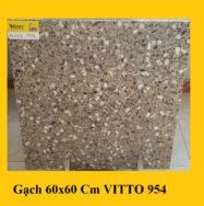 Gạch Lát Nền 60×60 Cm Giả Vân Đá Mài Vitto 0954