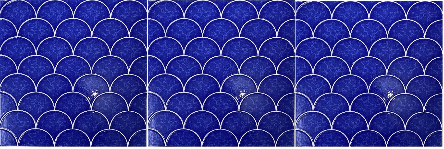 su dung gach mosaic hình vay ca 30x30 cm