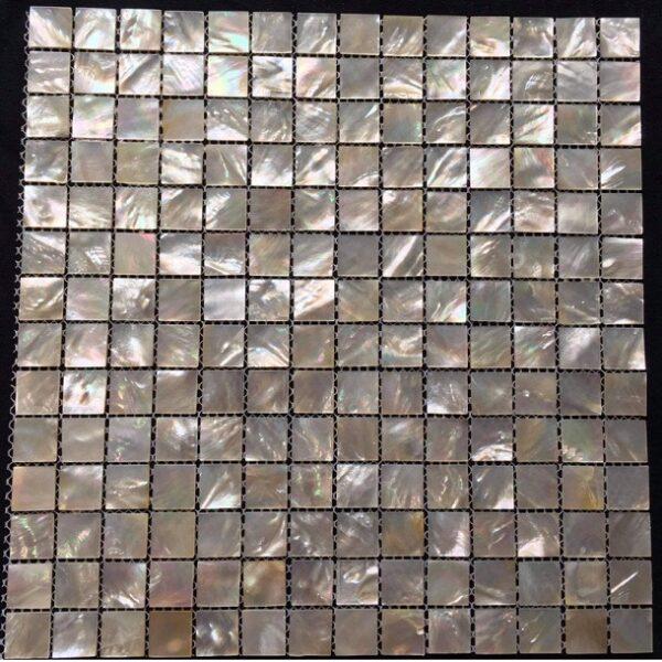 Gạch Mosaic Chất Liệu Vỏ Sò Trang Trí