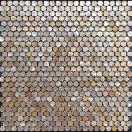 Gạch Mosaic Tròn – Bi Tròn Vỏ Sò