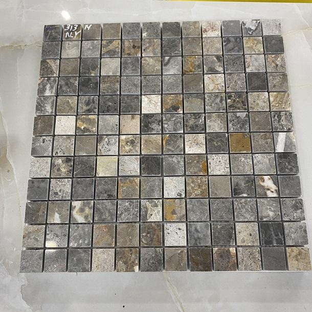 da mosaic op tuong cam thach mau nau