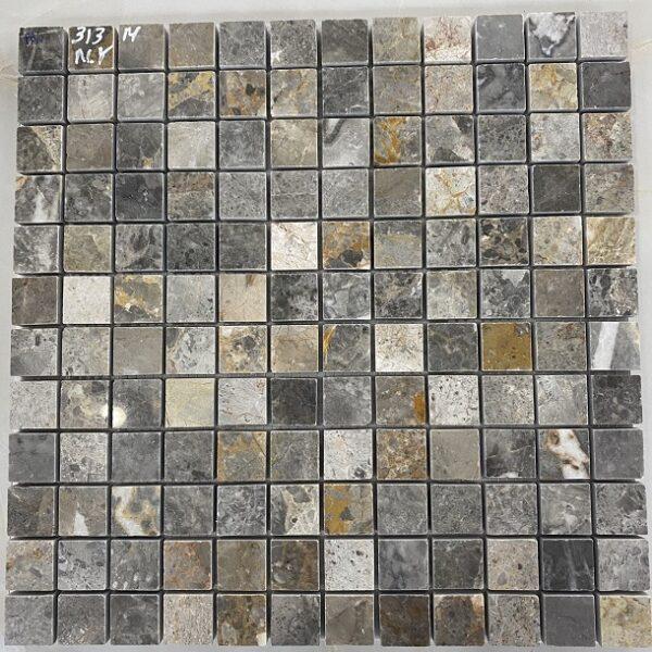 Đá Mosaic Cẩm Thạch Màu Nâu Xám