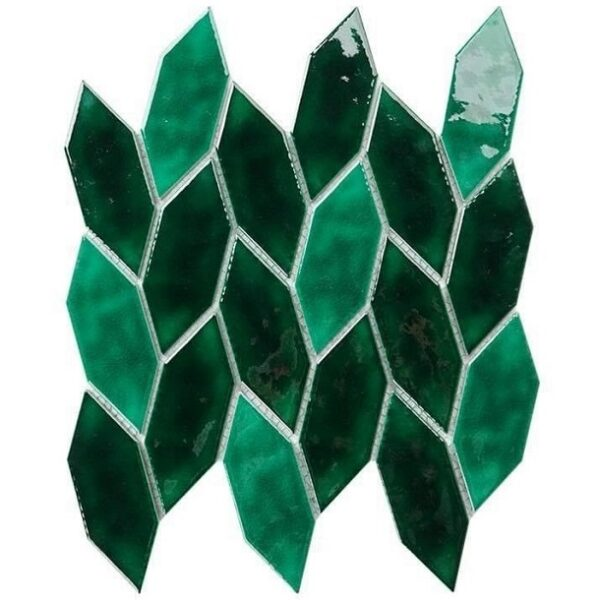 Gạch Mosaic Chiếc Lá