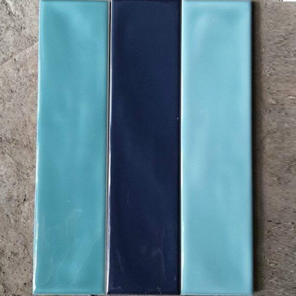 Gạch Thẻ 6,8×28 Cm Màu Xanh Ngọc