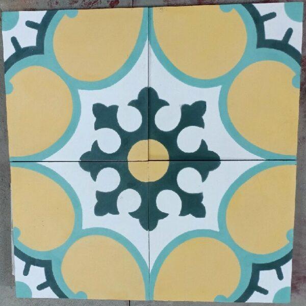 Gạch Bông Xi Măng Hoa Văn 20×20 Cm