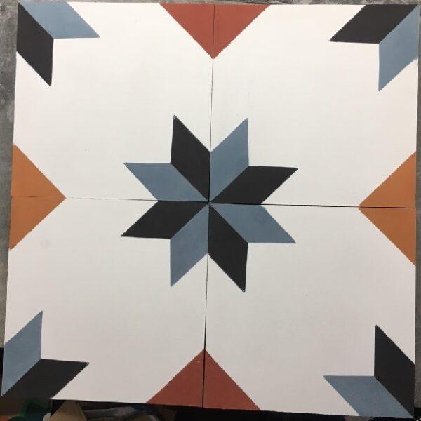Gạch Bông Xi Măng Cổ Điển 20×20 Cm