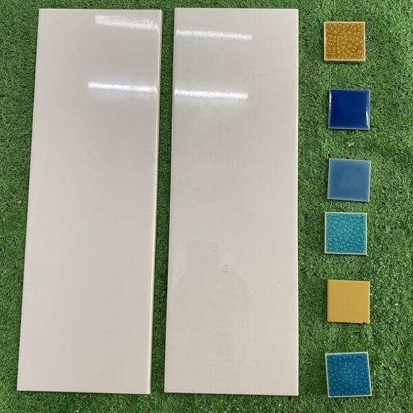 Gạch Thẻ Ốp Tường Màu Trắng 15×45 Cm