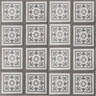 Gạch Bông Xi Măng Hoa Văn Màu Xám 20×20 Cm