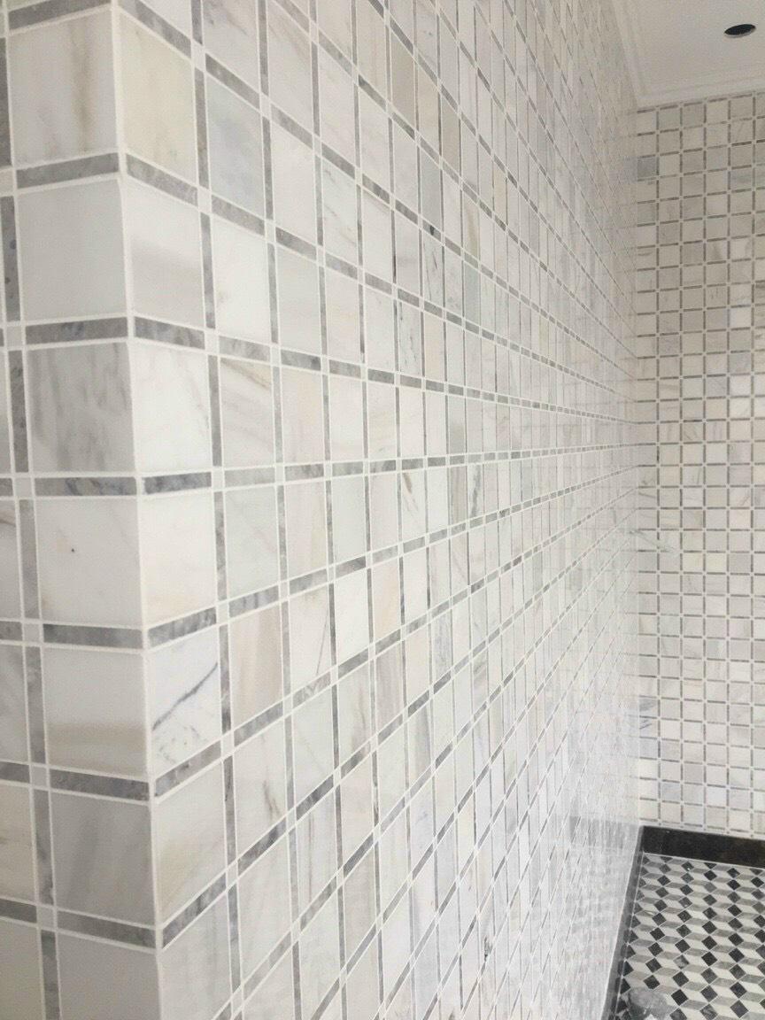 da mosaic hinh o vuong su dung op tuong