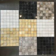 Đá Mosaic Đá Tự Nhiên Hình Vuông