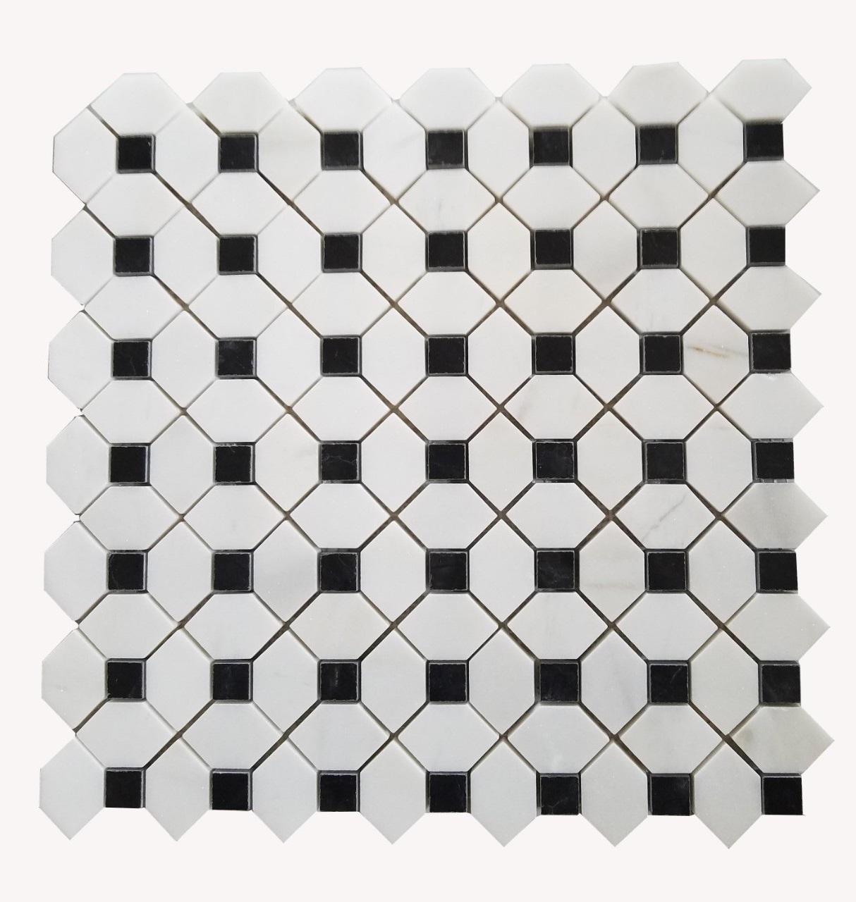 da mosaic da op tuong tu nhien marble