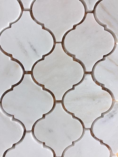 gach long den mau trang da mosaic