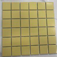 Gạch Mosaic Màu Vàng Bóng