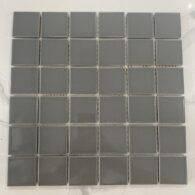 Gạch Mosaic Màu Xám Tro