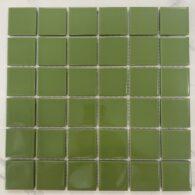 Gạch Mosaic Màu Xanh Lá