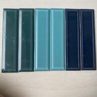 Gạch Thẻ 68×280 Màu Xanh Ngọc – Xanh Dương